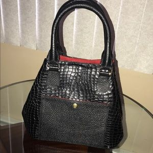 New leather designer hand bag